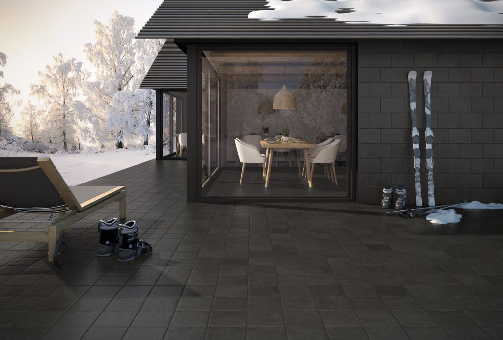 natural stone porcelain slate - Small Size 20mm