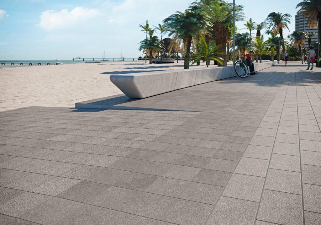 piedra natural pavimento urbano